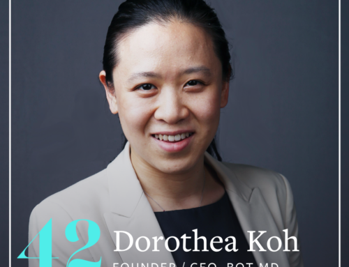 ACV 42: Test Your Hypotheses With Low Code Experiments (Dorothea Koh, Founder/CEO of Bot MD, Part 1)